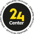 24 Center official partner -logo